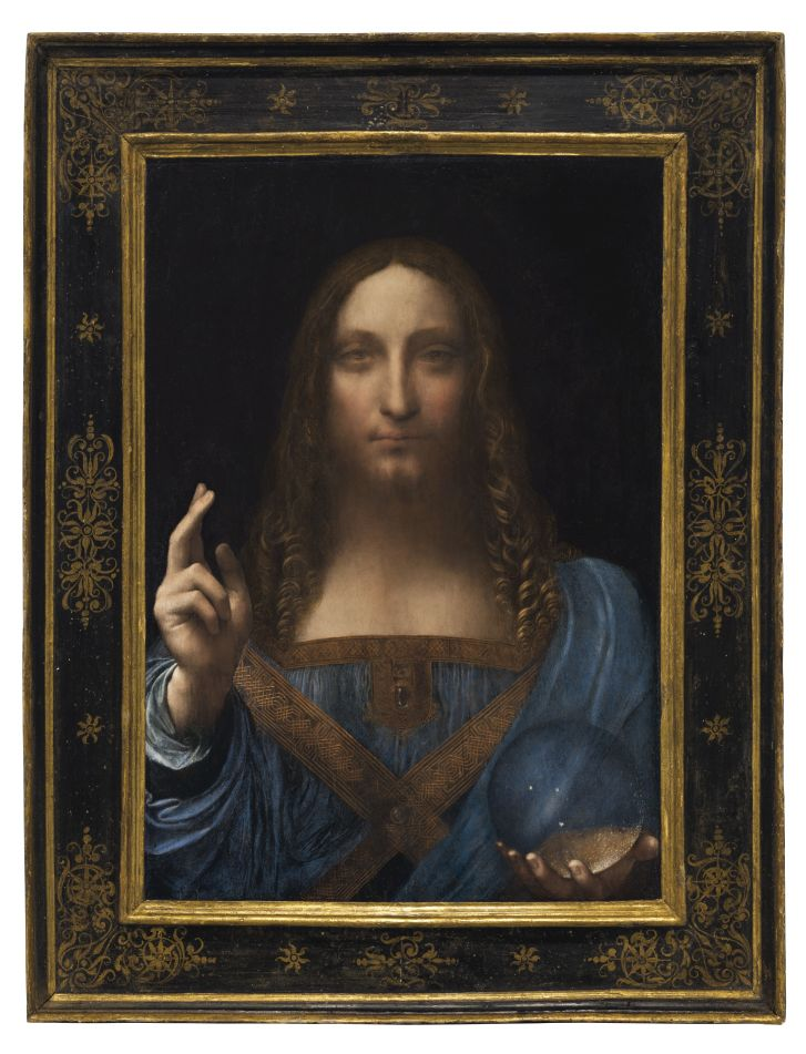 Da Vinci record, 450 mln all'asta